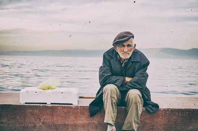 старик у моря