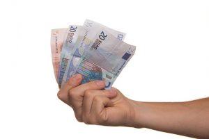 часть денег