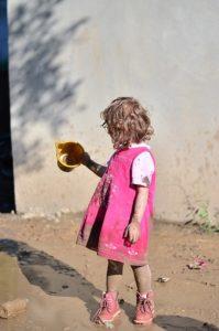 девочка без родителя