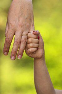рука родителя